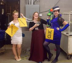 clue game halloween costumes using goodwill finds - Board Games Halloween Costumes