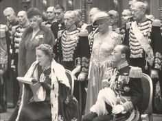Abdicatie koningin Wilhelmina en inhuldiging prinses Juliana (1948)