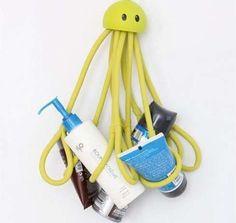 octopus shower caddy.
