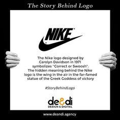 The Nike logo story.  Know the story and meaning behind the world famous logos.#storybehindthelogo #nike #story #logo #design #graphicdesign #art #company #graphicdesigner #advertising #marketing #branding #brand #graphic #product #brandidentity #logodesigner #storybehindlogo #ads #designer #illustrator #artist #marketingagency #digital #digitalmarketing #agency #enterpreneur #marketinggenius #logomaker #storytelling