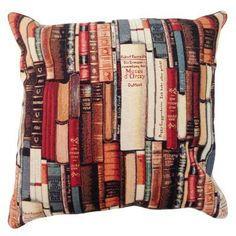 New Tapestry Book's / Library Cushion Cover, x Made in UK Sofa Cushion Covers, Cushions On Sofa, Throw Pillows, Made In Uk, Bedroom Sets, Vintage Fashion, Vintage Style, Bookcase, Tapestry