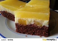 Ananasový pudinkový moučník recept - TopRecepty.cz Other Recipes, Sweet Recipes, Jacque Pepin, Czech Recipes, Sweet Cakes, Something Sweet, Desert Recipes, Cheesecake, Deserts