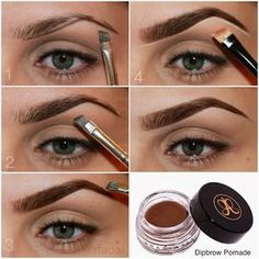 Cómo maquillar las cejas paso a paso ~ cositasconmesh