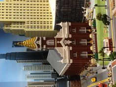 The Church Bianca and I were married in, Lego style.