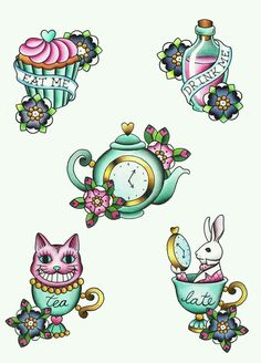 Alice in Wonderland traditional