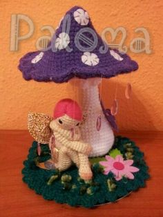Crochet Mandala Pattern, Crochet Flower Patterns, Crochet Flowers, Freeform Crochet, Crochet Fairy, Cute Crochet, Modern Crochet, Crochet Home, Knitted Dolls