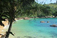 Praia de Picinguaba na cidade de Ubatuba.