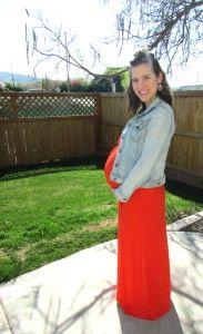 Dressing the bump for spring #38weeks #maxidress #springfashion
