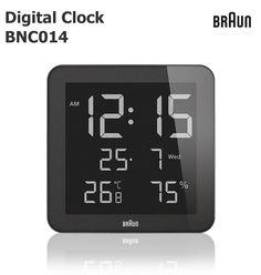 BRAUNDigitalClockBNC014ブラウン壁掛け時計