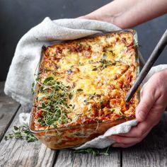 Norwegian Food, Norwegian Recipes, Meatless Monday, Granola, Cheddar, Pesto, Love Food, Quiche, Nom Nom