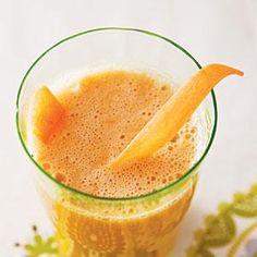 Carrot, Apple, and Ginger Refresher Recipe | MyRecipes.com