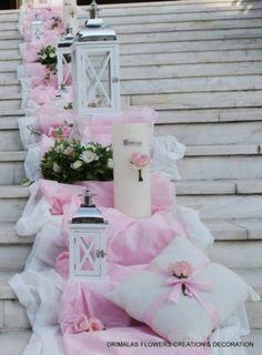 προσφορες πακετα γαμου, ΔΙΑΚΟΣΜΗΣΗ ΓΙΑ ΡΟΜΑΝΤΙΚΟ ΓΑΜΟ , ΚΑΛΟΚΑΙΡΙΝΕΣ ιδέες για ΔΙΑΚΟΣΜΗΣΕΙΣ ΓΑΜΟΥ, γαμήλια διακόσμηση,Ιδέες , προτάσεις στολισμού γάμου ,Στολισμοί γαμων εκκλησιων Στολισμός γάμου εκκλησιας,Στολισμός εκκλησίας εξωτερικός Church Wedding Decorations, Table Decorations, Wedding Church, Stair Case, Baptism Ideas, Weddings, Home Decor, Wedding Ideas, Homemade Home Decor