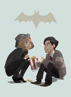 Gotham - Cat and Bruce