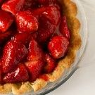 Strawberries topping