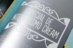 Cream Magazine by Yomesubo , via Behance