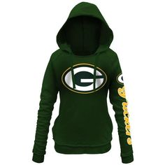 Women s Green Bay Packers 5th and Ocean by New Era Green Snap Count  Pullover Hoodie 8d116accf