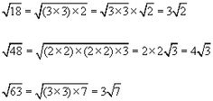 how to change rational fraction into irrational fractions