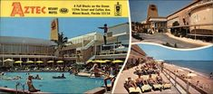 Aztec Resort Motel Miami Beach Florida.  I stayed there during the Miami Vice days.