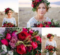 rich berry colored wedding - Hľadať Googlom