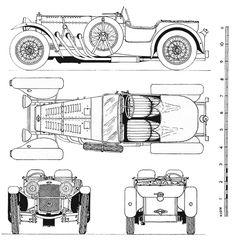 Frazer Nash TT Replica (1932) | SMCars.Net - Car Blueprints Forum