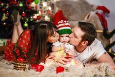 - un nuevo año - el M Fun Family Christmas Photos, Xmas Photos, Xmas Pictures, Christmas Baby, Shooting Photo Famille, Family Photos With Baby, Poses Photo, Foto Baby, Christmas Photography