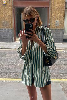 Adrette Outfits, Spring Outfits, Casual Outfits, Fashion Outfits, Simple Outfits, Modest Fashion, Camisa Oversized, Look Fashion, Girl Fashion