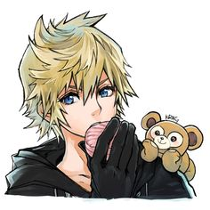 I dunno what's with the teddy bear Kingdom Hearts 3, The Legend Of Zelda, Kaito, Final Fantasy, Vanitas, Disney And Dreamworks, Anime Characters, Memes, Fan Art