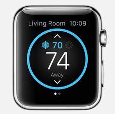 honeywell-lyric Apple Watch
