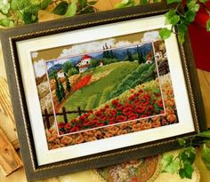 Gallery.ru / Фото #1 - Маковое поле - embroidery