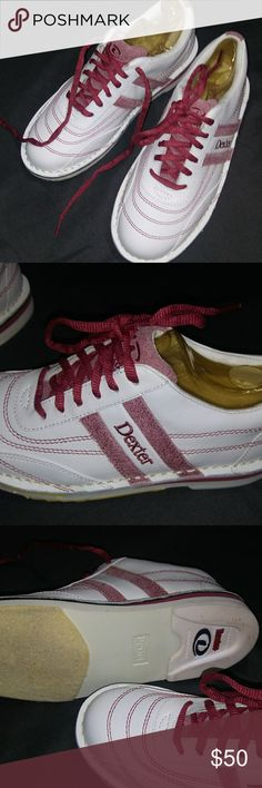 Ladies leather bowling shoes nib size 5.5 New DEXTER Shoes Athletic Shoes
