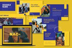 Nachelo - Google Slides by Balya99 on @creativemarket Presentation Deck, Image Theme, Slide Images, Keynote Template, Layout Design, Proposal, Bullet, Presentation Layout