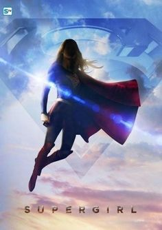 Image of the Day: Melissa Benoist flies high in new Supergirl promo poster