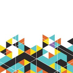 Multicolor geometric background Free Vector