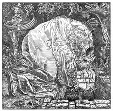 For a new edition of Ship of Fools, a late 15th century satirical book by Sebastian Brant, Hungarian artist István Orosz has made these Medieval-inspired illustrations of skulls, each one an anamorphic illusion.   of Fools