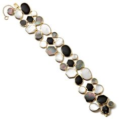 Ippolita 18K Gold Polished Rock Candy Mosaic Bracelet