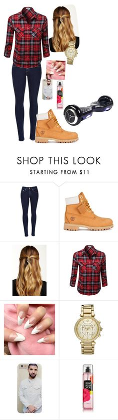 """OOTD 11/26/15 Happy Thanksgiving"" by kirstinv1226 ❤ liked on Polyvore featuring rag & bone, Timberland, Natasha Accessories and Michael Kors"