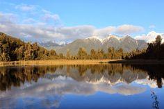 我們走過的地方...: 第一次的南半球.第一次的新西蘭 -- Day 4 (Fox Glacier霍氏冰川,Lake Mat...