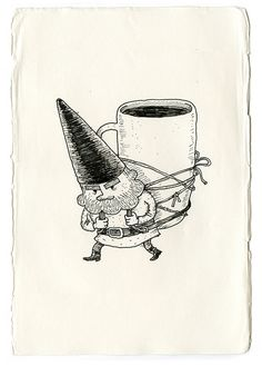 Le porteur by Guillaume Perreault.   These are a few of my favorite things...