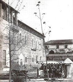 Ippovia per turisti al Castello per l'Expo del 1894.