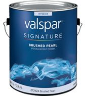 Valspar Signature Brushed Pearl Finish Paint:Available Colors For the bubbles!