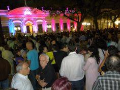 #18A en la plaza 9 de Julio de Posadas