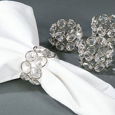 bling votives | For Sale: Bling Votive Holders & Napkin Rings - products - Project ...