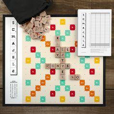 Scrabble Typography- love this!