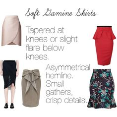 Soft Gamine Skirts, created by softgamine on Polyvore                                                                                                                                                     More