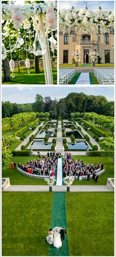 dream wedding at Oheka Castle ! Brett Matthews Photography