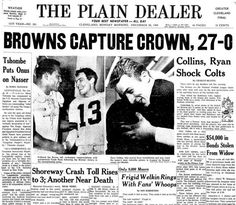 Shocking Loss (1964 NFL Championship Game)