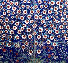 Gorgeous tiles from Ann Sacks - Iznik tiles made today using 16th c. techniques in the small Turkish town of Iznik