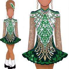 Dance Costumes Kids, Fancy Costumes, Trip The Light Fantastic, Dress Sketches, Irish Dance, Dance Dresses, Fashion Dresses, Women's Fashion, Tutu
