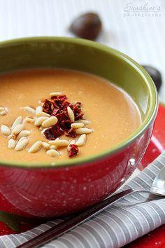 pumpkin chestnut soup!