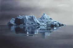 Greenland Iceberg Drawings by Zaria Forman. Zaria Forman creates breathtaking pastel drawings of Greenland's icebergs that are exceptional in three ways. Realistic Paintings, Realistic Drawings, Pastel Paintings, Ocean Paintings, Pastel Artwork, Digital Paintings, Oil Paintings, Landscape Paintings, Pastel Landscape